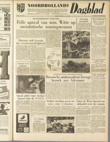 Noordhollands Dagblad : dagblad voor Alkmaar en omgeving 1958-11-21