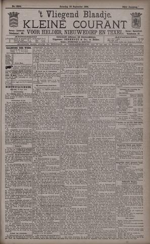 Vliegend blaadje : nieuws- en advertentiebode voor Den Helder 1894-09-22