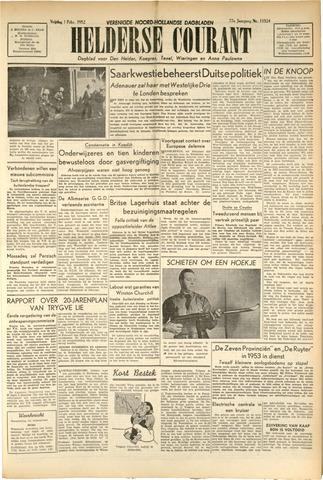 Heldersche Courant 1952-02-01
