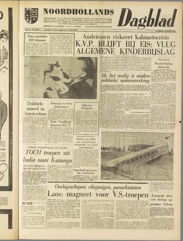 Noordhollands Dagblad : dagblad voor Alkmaar en omgeving 1961-03-25