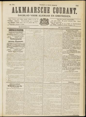Alkmaarsche Courant 1908-10-28