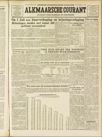 Alkmaarsche Courant 1955-03-08