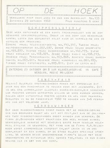 Op De Hoek, weekblad voor Akersloot 1960-10-29