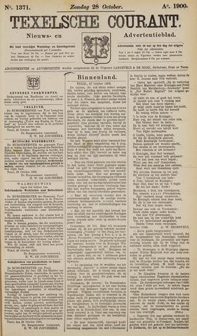 Texelsche Courant 1900-10-28