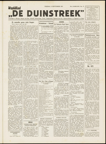 De Duinstreek 1951-09-21
