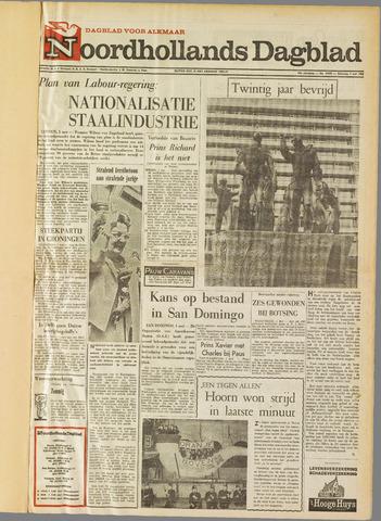 Noordhollands Dagblad : dagblad voor Alkmaar en omgeving 1965-05-01