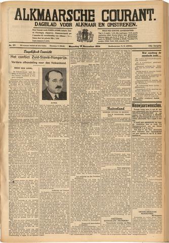Alkmaarsche Courant 1934-12-10