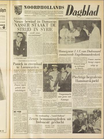 Noordhollands Dagblad : dagblad voor Alkmaar en omgeving 1961-09-30