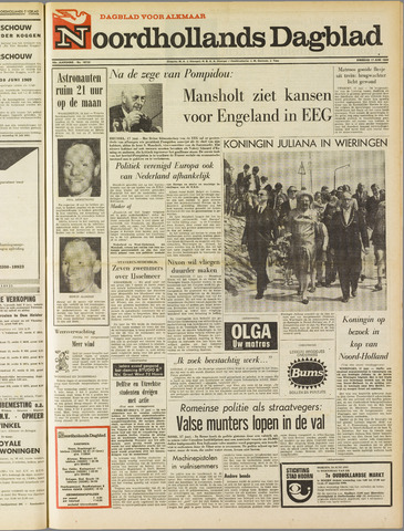 Noordhollands Dagblad : dagblad voor Alkmaar en omgeving 1969-06-17
