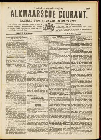 Alkmaarsche Courant 1907-02-21