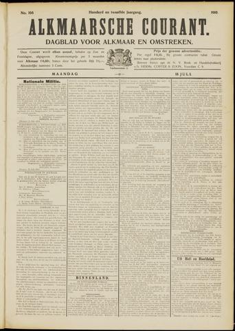 Alkmaarsche Courant 1910-07-18