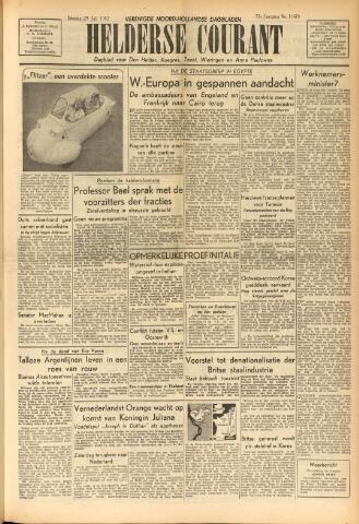 Heldersche Courant 1952-07-29