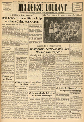 Heldersche Courant 1954-04-26