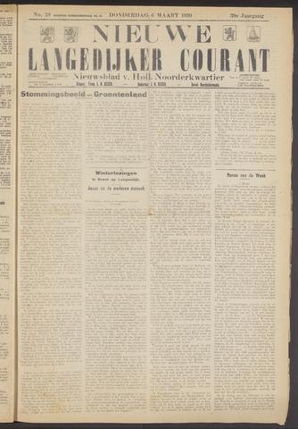 Nieuwe Langedijker Courant 1930-03-06