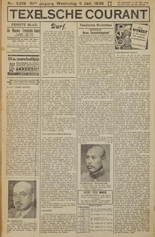 Texelsche Courant 1938-01-05