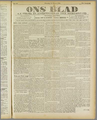 Ons Blad : katholiek nieuwsblad voor N-H 1920-03-16