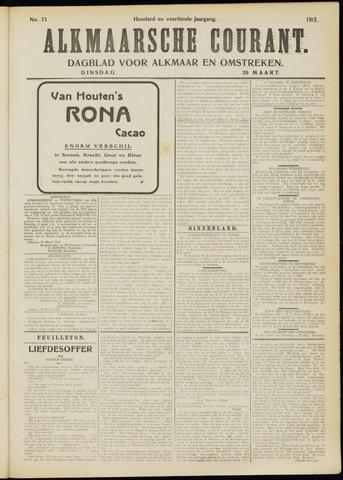 Alkmaarsche Courant 1912-03-26