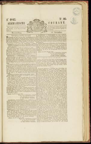 Alkmaarsche Courant 1845-11-17