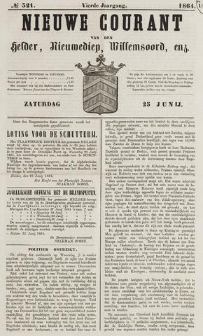 Nieuwe Courant van Den Helder 1864-06-25