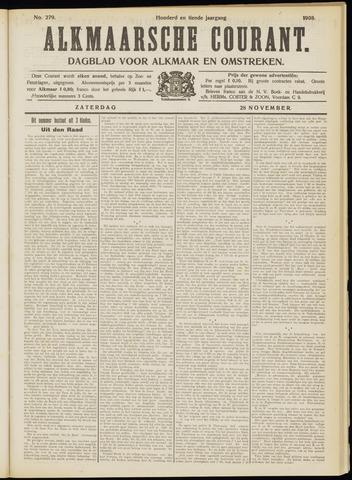Alkmaarsche Courant 1908-11-28