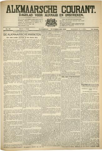 Alkmaarsche Courant 1930-02-22