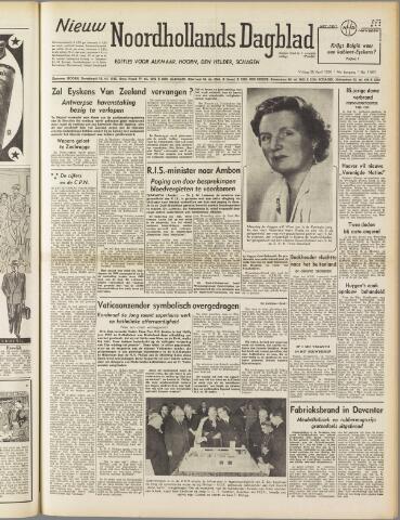 Nieuw Noordhollandsch Dagblad : voor Alkmaar en omgeving 1950-04-28