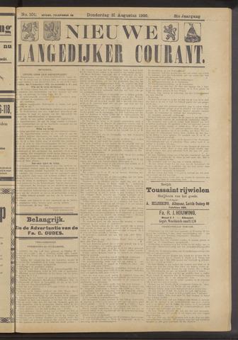 Nieuwe Langedijker Courant 1922-08-31