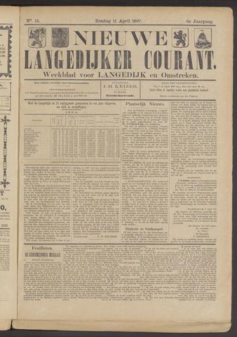 Nieuwe Langedijker Courant 1897-04-11