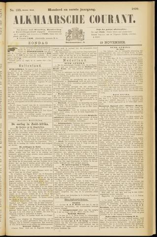 Alkmaarsche Courant 1899-11-19