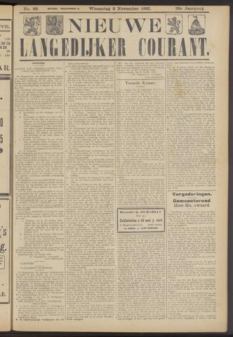 Nieuwe Langedijker Courant 1920-11-03