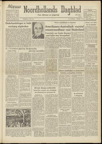 Nieuw Noordhollandsch Dagblad : voor Alkmaar en omgeving 1948-06-16