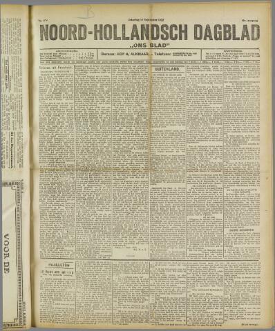 Ons Blad : katholiek nieuwsblad voor N-H 1922-09-16