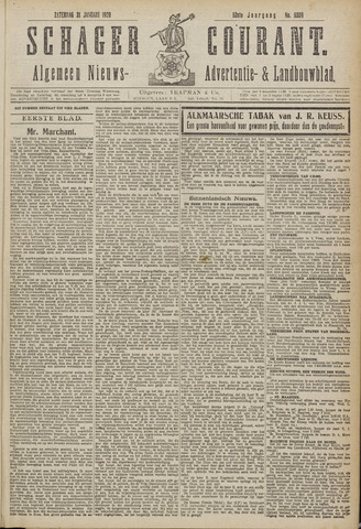 Schager Courant 1920-01-31