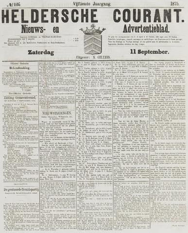 Heldersche Courant 1875-09-11