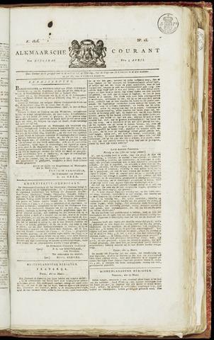 Alkmaarsche Courant 1825-04-05