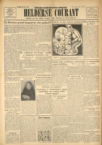 Heldersche Courant 1949-10-22