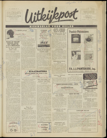 Uitkijkpost : nieuwsblad voor Heiloo e.o. 1972-07-19