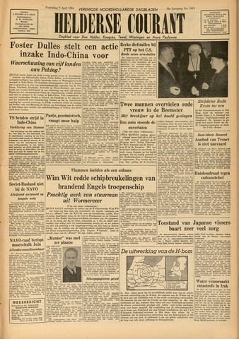Heldersche Courant 1954-04-07
