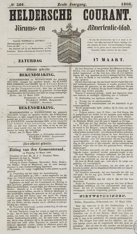 Heldersche Courant 1866-03-17