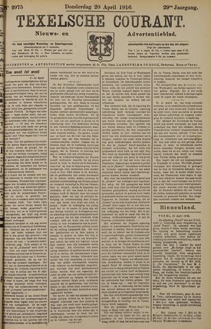 Texelsche Courant 1916-04-20