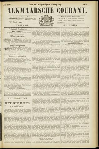 Alkmaarsche Courant 1891-08-21
