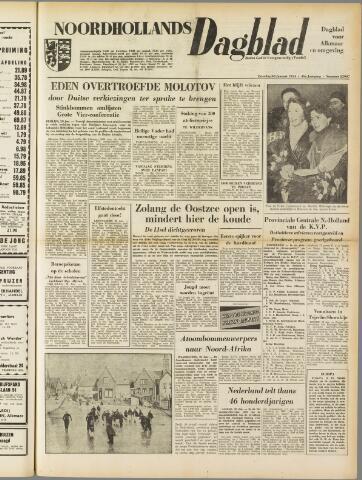 Noordhollands Dagblad : dagblad voor Alkmaar en omgeving 1954-01-30