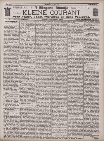 Vliegend blaadje : nieuws- en advertentiebode voor Den Helder 1913-07-16