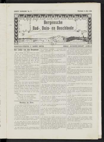 Bergensche bad-, duin- en boschbode 1910-07-08