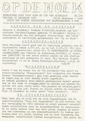 Op De Hoek, weekblad voor Akersloot 1964-12-18