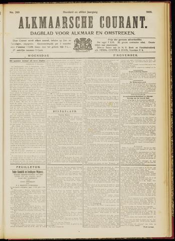 Alkmaarsche Courant 1909-11-17