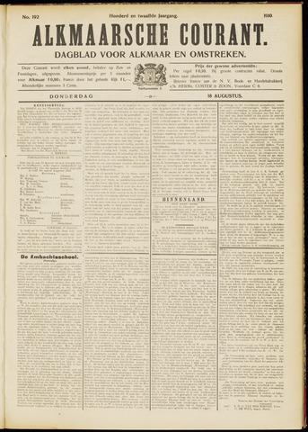 Alkmaarsche Courant 1910-08-18