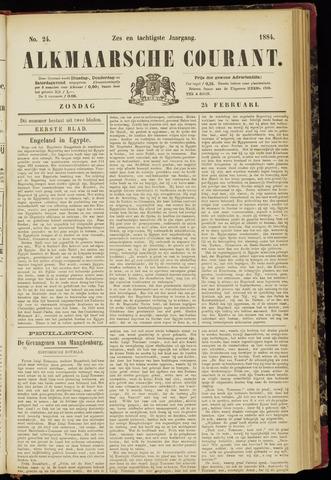 Alkmaarsche Courant 1884-02-24