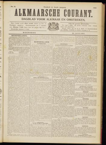 Alkmaarsche Courant 1908-01-22