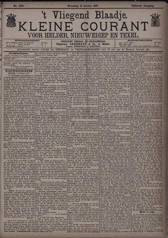 Vliegend blaadje : nieuws- en advertentiebode voor Den Helder 1887-10-12